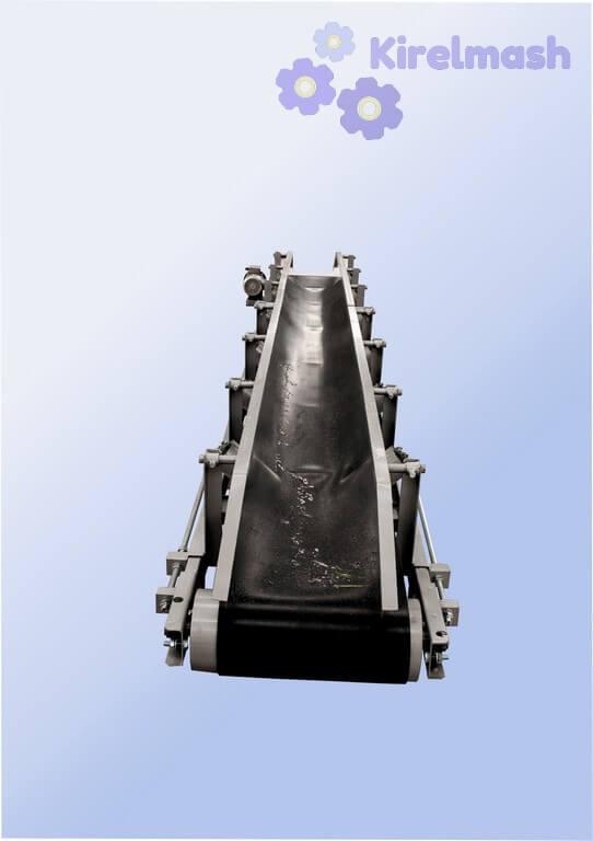 Конвеєр (транспортер) стрічковий для мішків