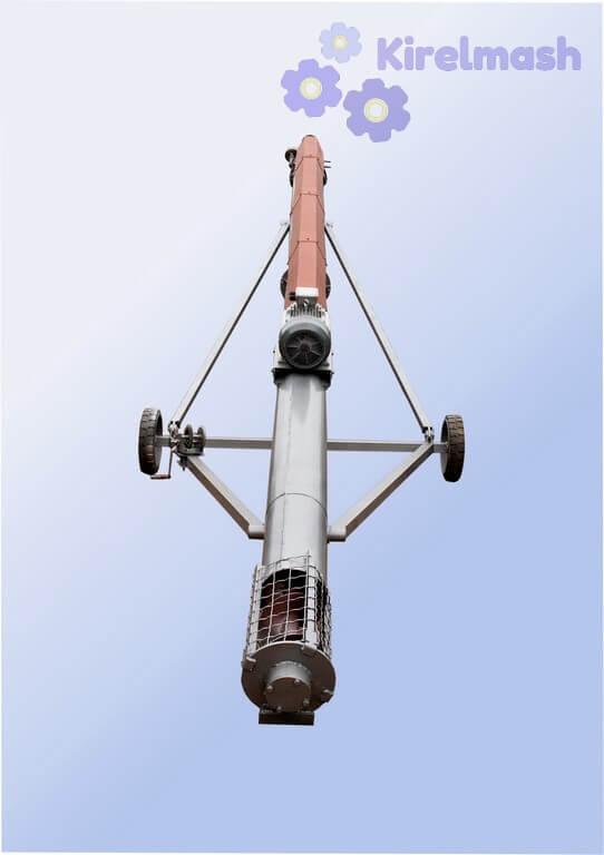 Навантажувач (транспортер) пересувний шнековий КВП