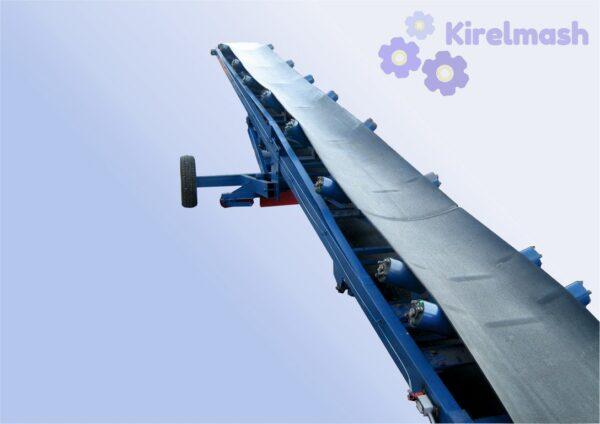 Навантажувач (конвеєр) пересувний стрічковий з регулюванням кута підйому КСП-600х10