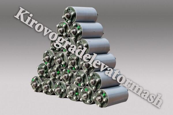 Роликоопори жолобоподібні, ролики підтримуючі і центрувальні